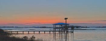 Sunset at Cedar Key