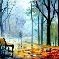 misty alley Art Prints & Posters by shiokcafe