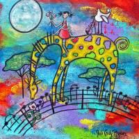 """She Dreams Of Gavotte"" by juliryan"