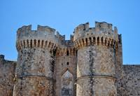 Medieval fortress of Rhodes.