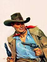 Wild West Two Guns Cowboy