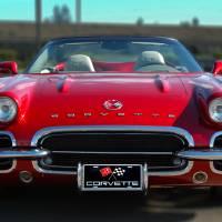 62 Red Hot Corvette by John Tribolet