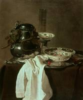 Pewter, China and Glass, 1649 (oil on canvas)