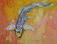 Yellow Dragon Koi