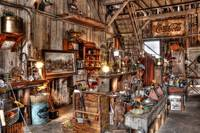 Inside of Antique Furniture Shop