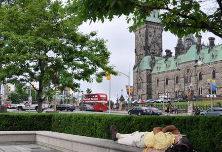 Resting in the Capital Ottawa