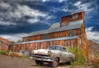 old car old barn copy