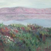 """Sea of Galilee"" by nadinerippelmeyer"