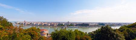 Pest from Buda - Panorama
