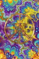 Hippy Psychadelic Peace Art