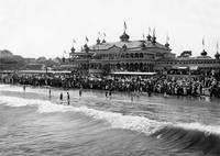 Neptune Casino, Santa Cruz c1900, California by WorldWide Archive