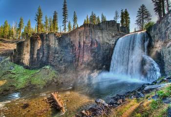 Rainbow Falls Mammoth Lakes Ca By Nate Siggard