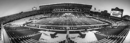 Gophers Stadium BW Pan