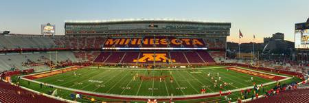Gophers Stadium Pan