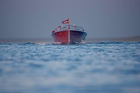 Wooden Boat Approach