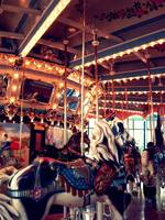 carousel at the please touch museum