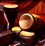 Congas on Stage