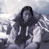 Portrait of an Inuit Woman by I.M. Spadecaller