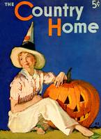 Vintage Country Home Magazine Cover Art