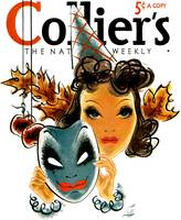 Vintage Colliers Magazine Cover Art