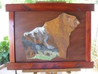 Mountain Grizzly art