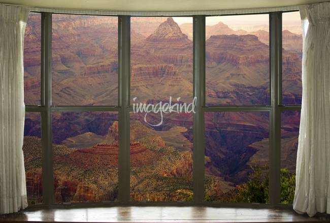 Grand Canyon Springtime Bay Window View