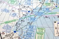 Air navigation chart.