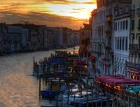 Venice - Grand Canal Sunset HDR2