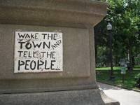 wake the town and tell the people