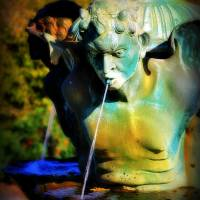 Summer Fountain Art Prints & Posters by Perry Webster