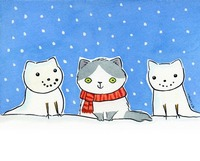 Winter Snow Cats