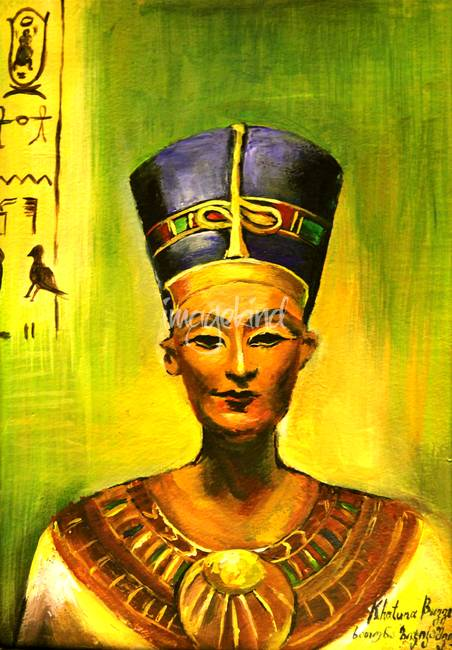 Egyptian queen Nefertiti.