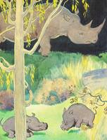 RHINOS IN KID'S STORY