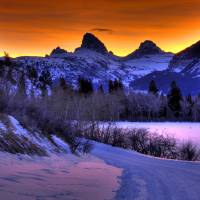 """Teton Fire"" by jpat"