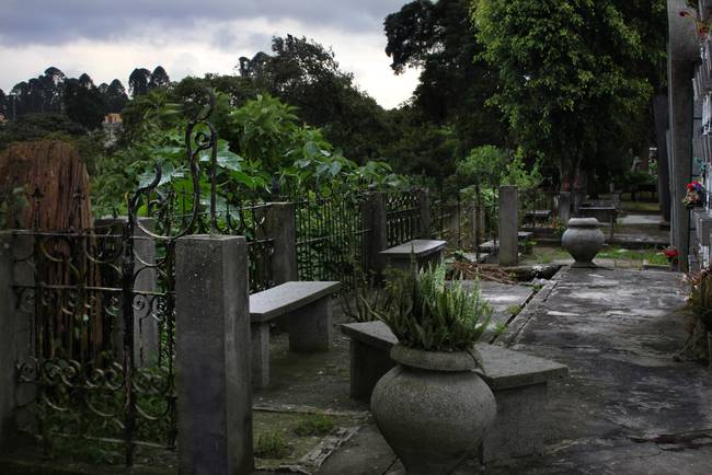 Garden looking to act in a movie, General Cemetery