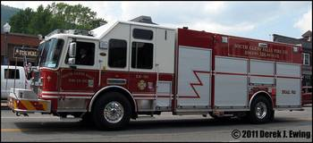 South Glens Falls Fire Co. - Engine/Rescue 586