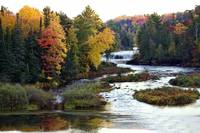 Autumn at Tahquamenon River