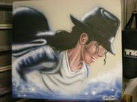 Michael Jackson Airbrushed one of a kind