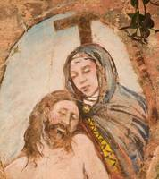 _Religious painting on wall in Monterosso al Mar