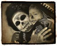 Dia de los Muertos Mother and Child