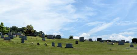 Church Cemetery in the Country