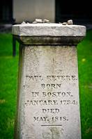 Paul Revere's Gravemarker, Granary Burying Ground