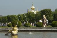 Mezheumny Fountain, Upper garden of Peterhof.