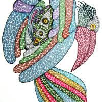 Raven I Art Prints & Posters by Kruti s