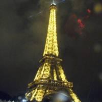 Tour Eiffel la Nuit Art Prints & Posters by Ford Dennis