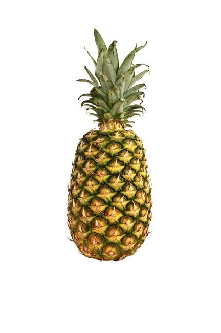 Isolated pineapple.