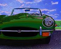 Jaguar XKE - Green