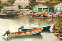 Fishing Boats, Castries Waterfront, St. Lucia