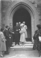 Iris Howell & Lewis Kabisch wedding day 1943