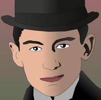 Franz Kafka Portrait Cartoon